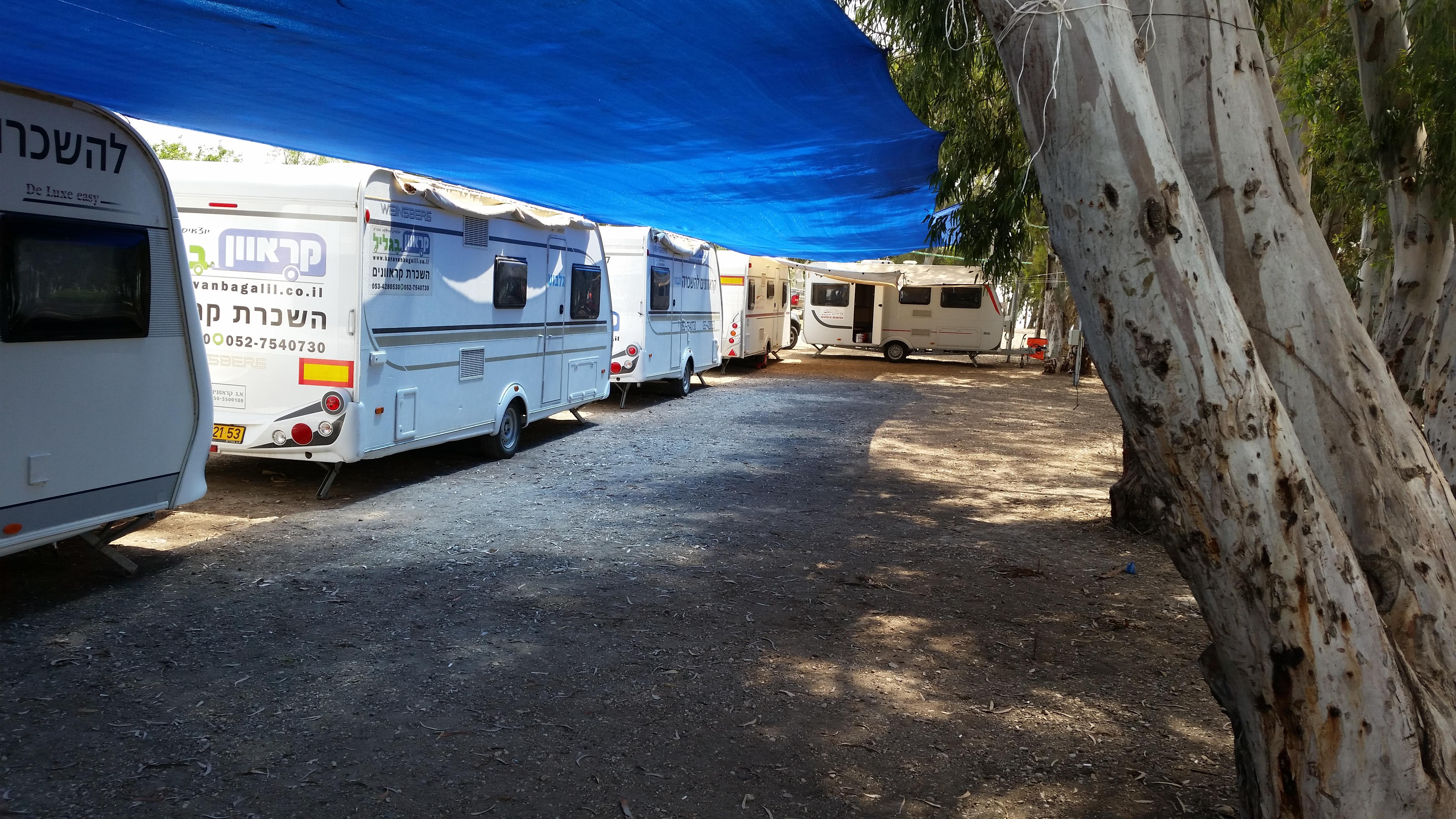 קרוואנים להשכרה בצפון בחופי הכנרת וטבריה קרוואן העמק