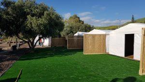 אוהלים ממוזגים בכנרת – קמפינג בכנרת